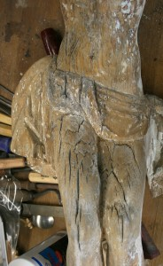 Schwundrisse im Holz