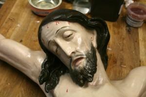 Gesicht Christus neu gefasst